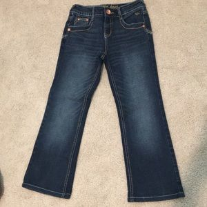 Justice boot cut jeans